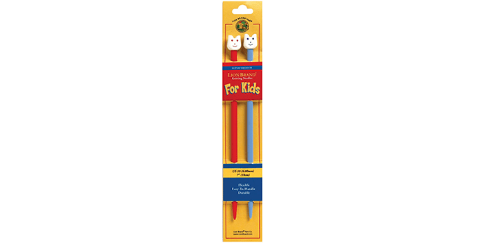 Lion Brand 7-Inch Knitting Needles for Kids