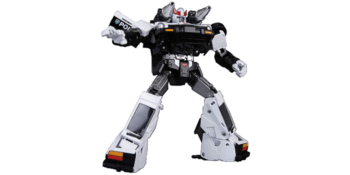 "MP17 ""KO Version"" Transformers Masterpiece Prowl Figure"