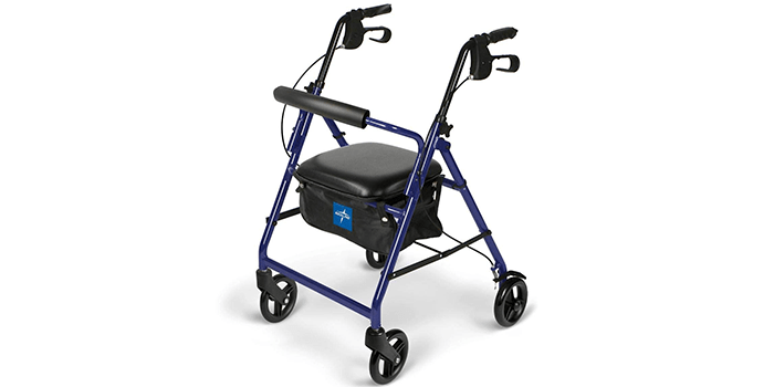 Medical Supply Team Aluminum Rollator Rolling Walker
