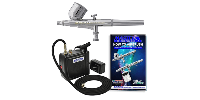 Master Airbrush Multi-Purpose Airbrushing System Kit