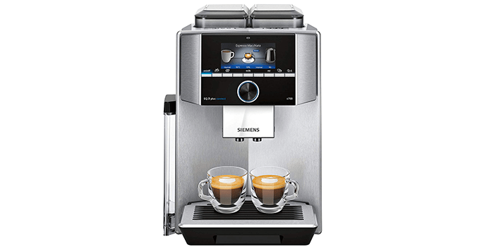 Siemens EQ 9 Super Automatic Espresso Machine