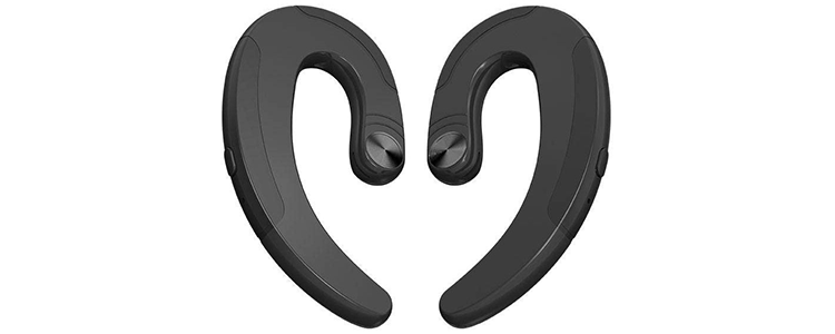 Leegoal Bluetooth Headphones Non-Ear Plug