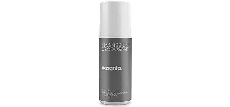 Nasanta Natural Deodorant with Magnesium