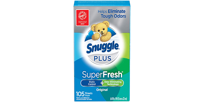 Snuggle Plus Super Fresh Fabric Softener Dryer Sheets