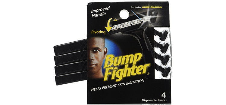 Bump Fighter Mens Disposable Razor