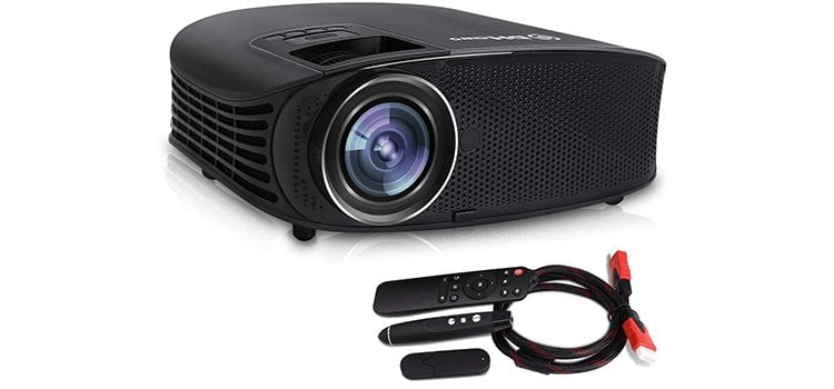 DHAWS 3800LM 1080P Full HD HDMI Office Projector