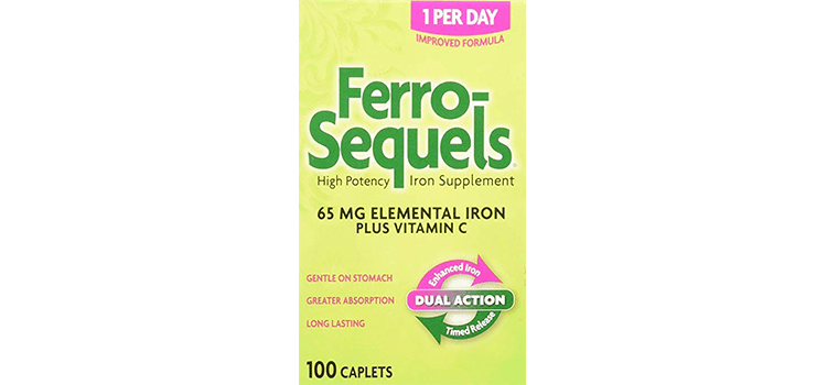Ferro-Sequels High Potency Iron Supplement