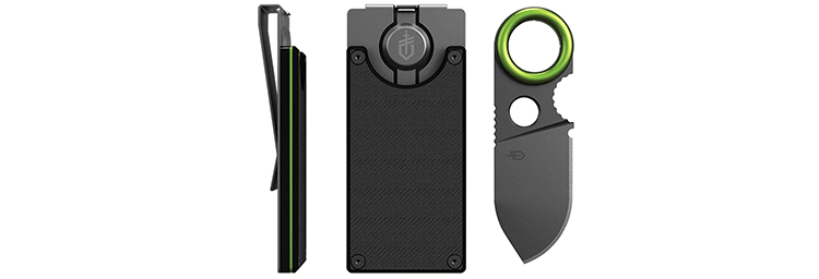 Gerber Money Clip with Fixed Blade Knife