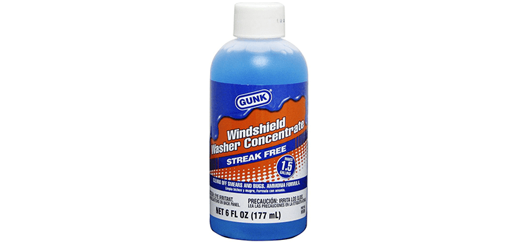 Gunk Streak Free Windshield Washer Concentrate