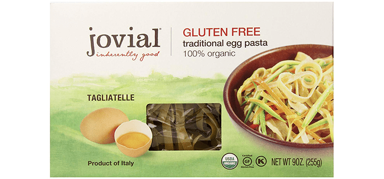Jovial Foods Organic Gluten Free Traditional Egg Pasta