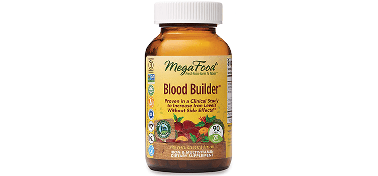 MegaFood Blood Builder Daily Iron Supplement