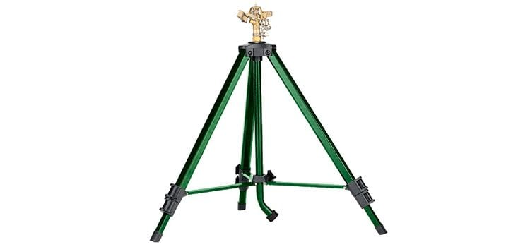 Orbit Tripod Base with Brass Impact