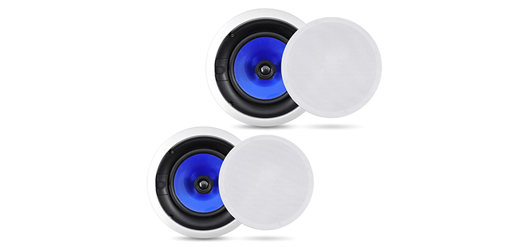 Pyle 2-Way In-Wall In-Ceiling Speaker System