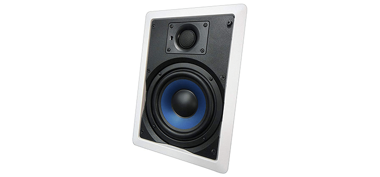 Silver Ticket Products In-Wall In-Ceiling Speaker with Pivoting Tweeter