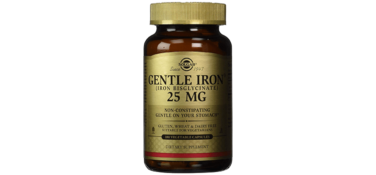 Solgar Gentle Iron Vegetable Capsules