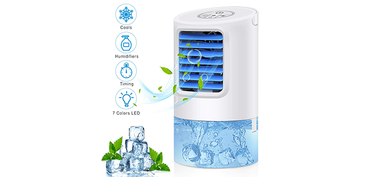 Vidanoble Portable Air Conditioner Fan
