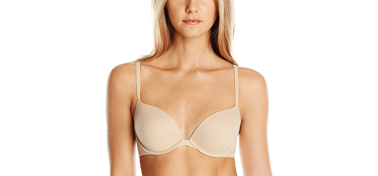 Calvin Klein Women's Push Up Plunge Memory Touch Bra