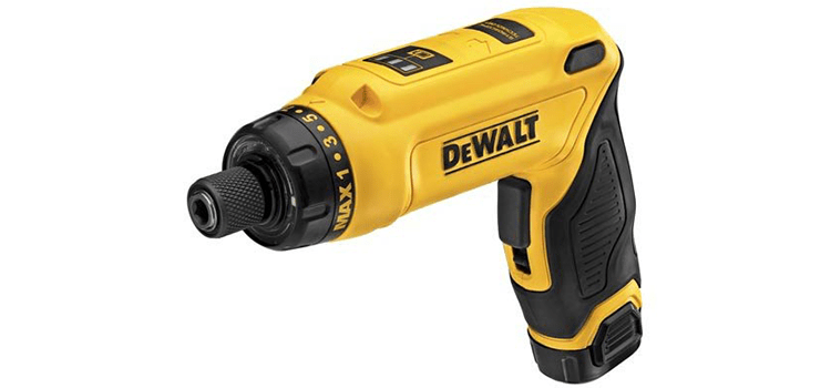 DeWalt 8V Max Gyroscopic Screwdriver