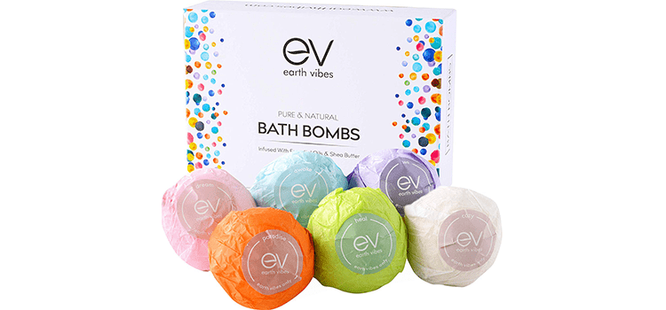 Earth Vibes Bath Bombs Gift Set