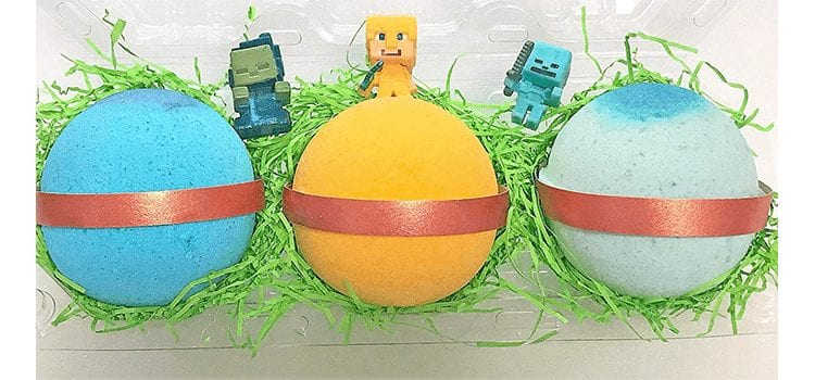 MINE CRAFTERS Surprise Bath Bomb Gift Set