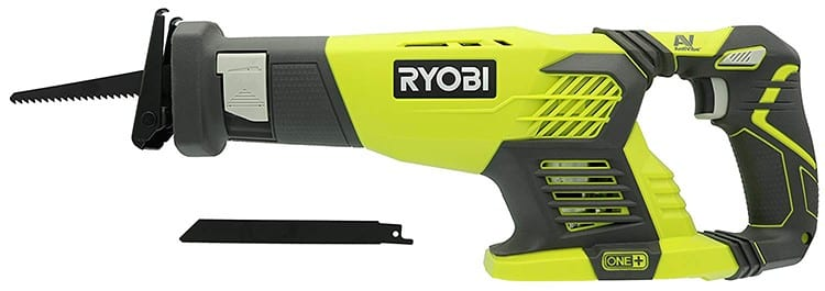 Ryobi 18V Cordless One+ Variable Speed Reciprocating Saw