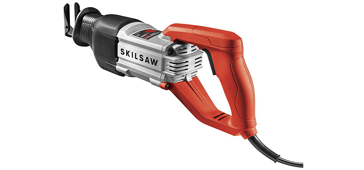 Skilsaw 13 Amp Reciprocating Saw with Buzzkill Tech
