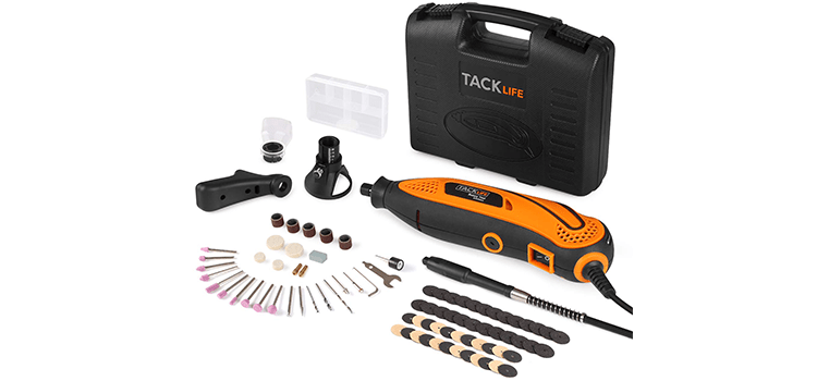 TACKLIFE Rotary Tool Kit