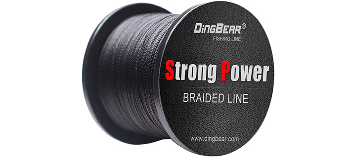 DINGBEAR Super Strong Pull Generic Braided Fishing Line