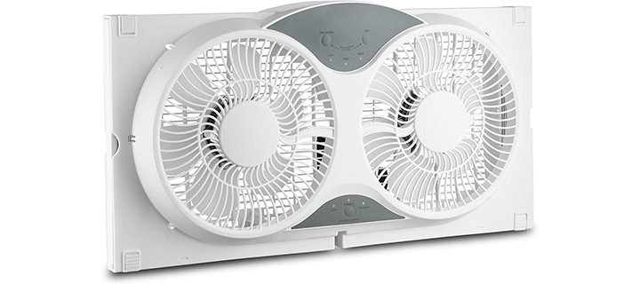 Howplumb Portable Twin 9 Reversible Window Fan