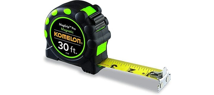 Komelon 7130 Monster Maggrip 30 Measuring Tape