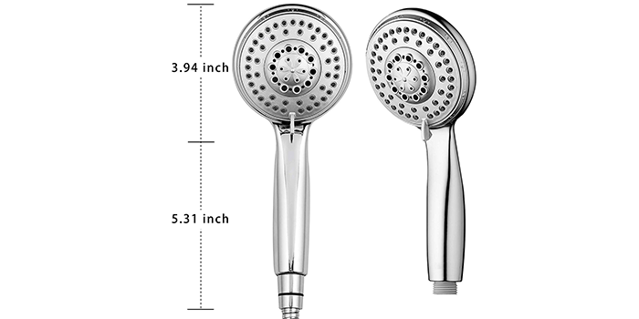 AHODGREAT Rain Shower Head High Pressure Handheld Showerhead