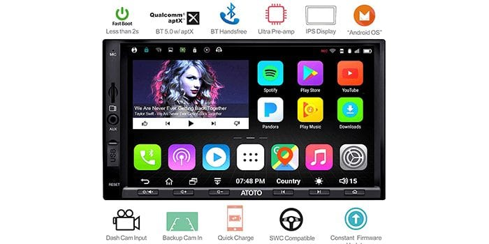 ATOTO A6 Pro Android Car Navigation Stereo