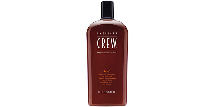 American Crew Men Classic 3-in-1 Shampoo, Conditioner, Body Wash