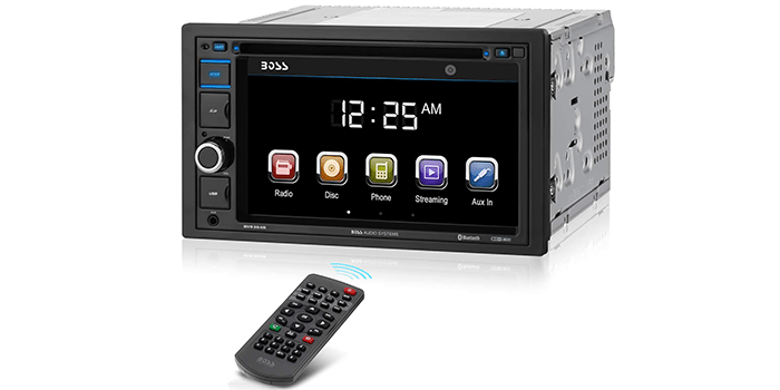 Boss Audio Systems BV9364B Car Stereo DVD Player