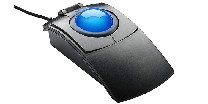 Clearly Superior Technologies Inc. CST2545-5W(GL) Trackball Mouse