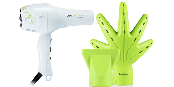 DevaCurl Ionic Hairdryer with Diffuser