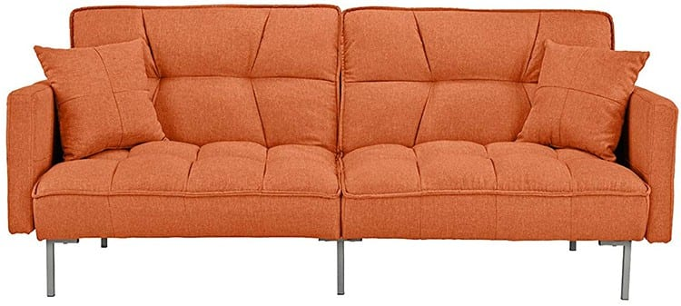 Divano Roma Furniture Living Room Sleeper Futon