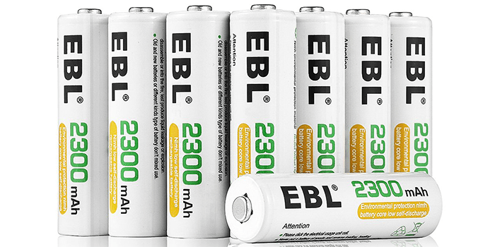 EBL AA Rechargeable Batteries