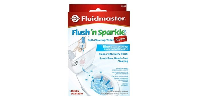 Fluidmaster 8100 Toilet Bowl Cleaning System
