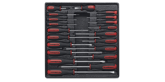 GearWrench Master Dual Material Screwdriver Set