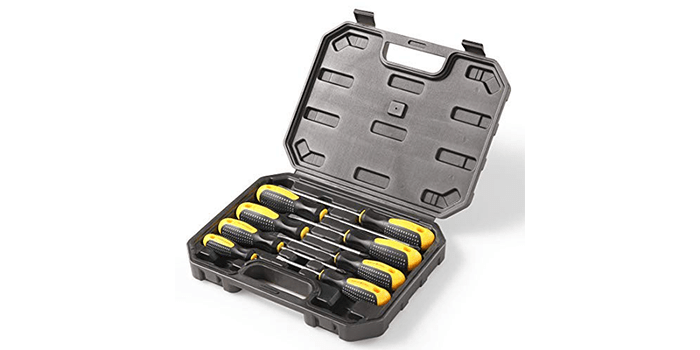 HARVET Professional 8-Piece Screwdriver Set