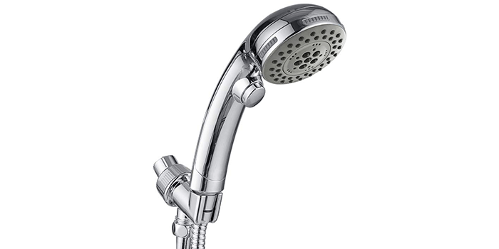 HOMELODY High Pressure 5 Setting Handheld Shower Head