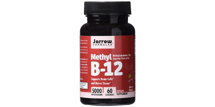 Jarrow Formulas Methylcobalamin (Methyl B12)