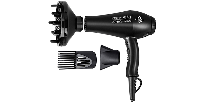 Jinri Professional Salon Far Infrared Negative Ionic Hair Dryer