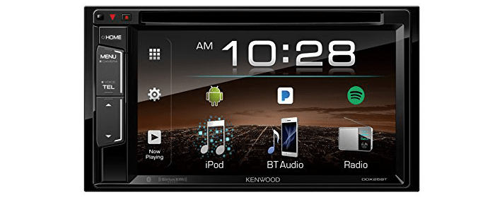 Kenwood DDX25BT 6.2 inch DVD Monitor Bluetooth Receiver