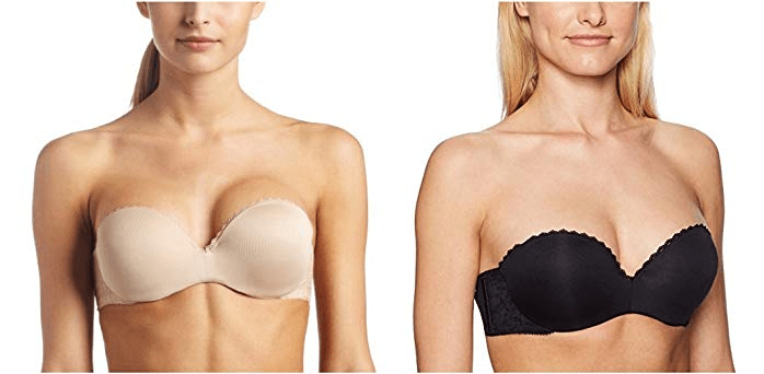 Lily of France Women's Gel Touch Strapless Push Up Bra