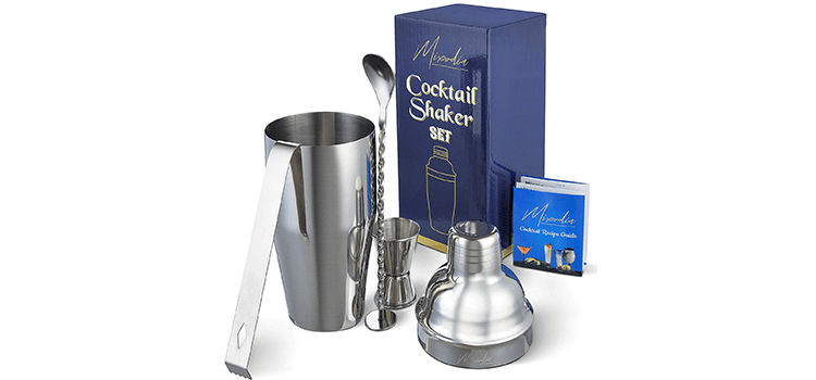 Mixodia Cocktail Shaker Bar Tools Set