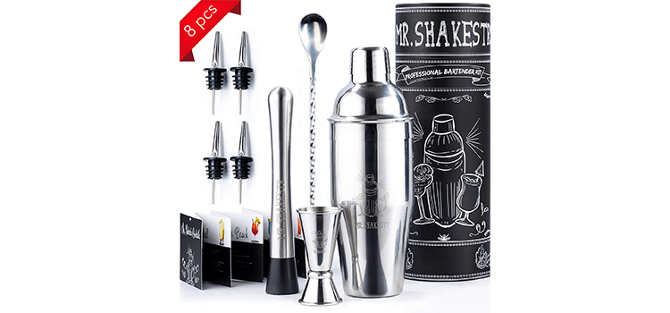Mr Shakestr Cocktail Shaker Set