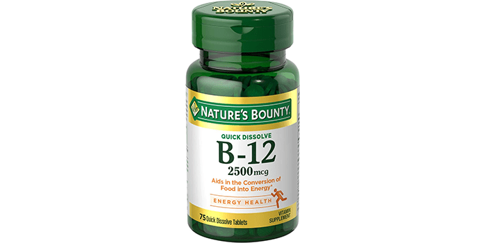 Nature's Bounty Vitamin B12 Supplement