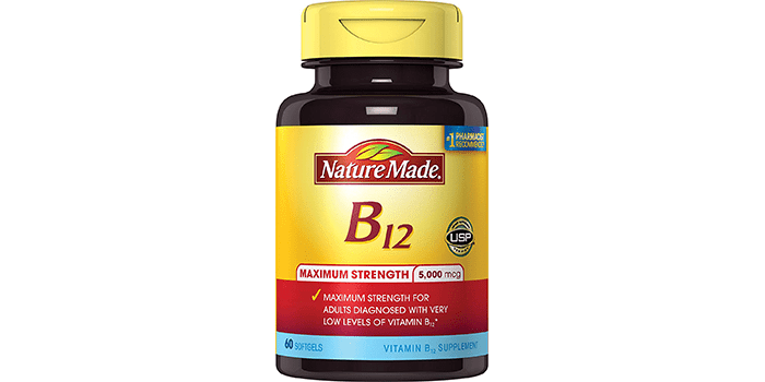 Nature Made Max Strength Vitamin B12